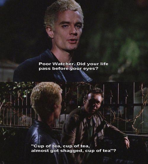 Spike and Giles - Buffy the Vampire Slayer