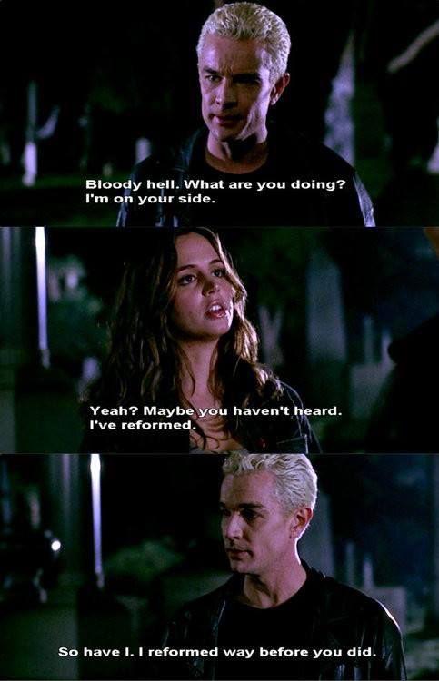 Spike and Faith - Buffy the Vampire Slayer